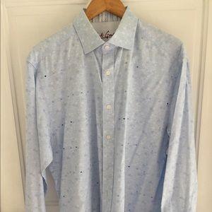 Robert Graham men's long sleeve shirt. Great look